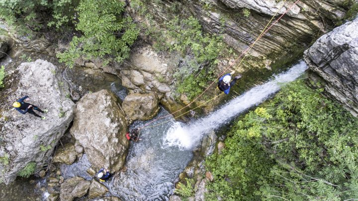 Advanced Canyoning Rogovos, Papigo