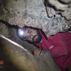 Caving Mt.Parnitha 3