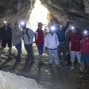 Caving Mt Parnitha Athens 2