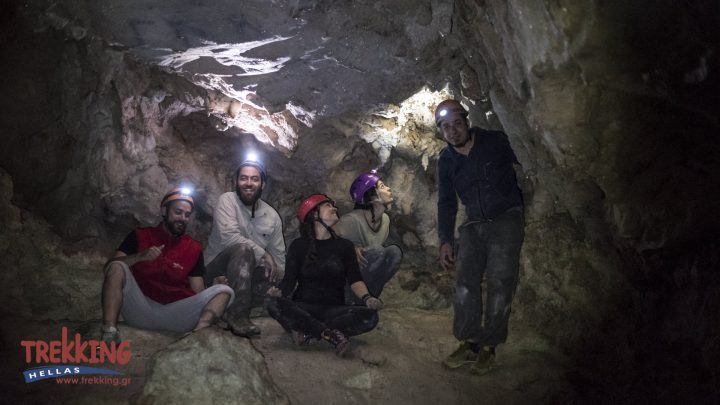 Caving Mt.Parnitha 1