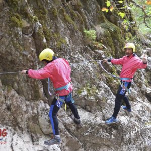 Via ferrata black cave 3