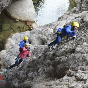 Via ferrata black cave 6