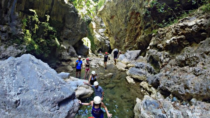 River Trekking Bolovinena Canyon, North Evia 3