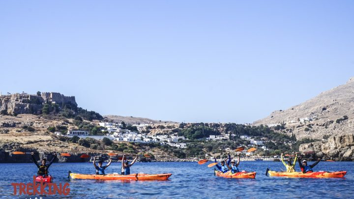 Sea Kayak Rhodes – Discover Lindos – Full Day 8