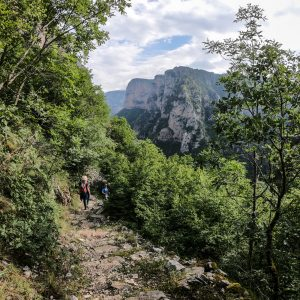 Vikos Gorge Crossing 4