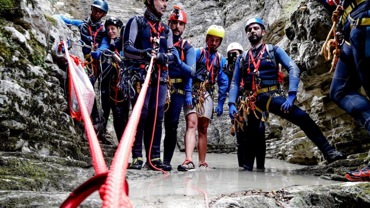 Canyoning Τζουμέρκα Παπαπήδημα 3