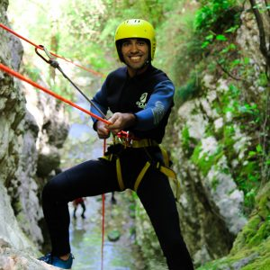 Canyoning Τζουμέρκα Παπαπήδημα 4