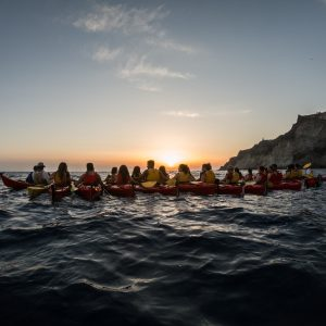 Sunset Sea Kayak Tour 17