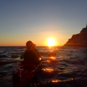 Sunset Sea Kayak Tour 3