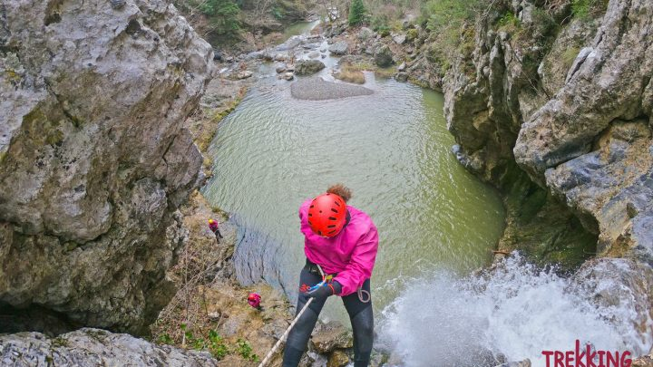 Canyoning στους καταρράκτες του Δρυμώνα 1