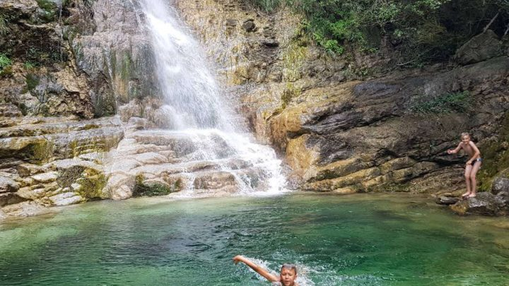 River Trekking Orlias & Red Rock Waterfall