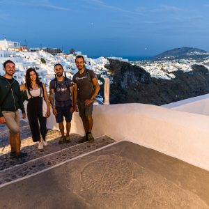 The only night hike in Santorini 9