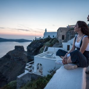 The only night hike in Santorini 10