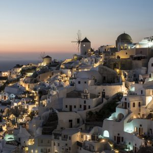 The only NIGHT HIKE in Santorini 2