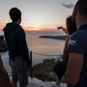 The only night hike in Santorini 6