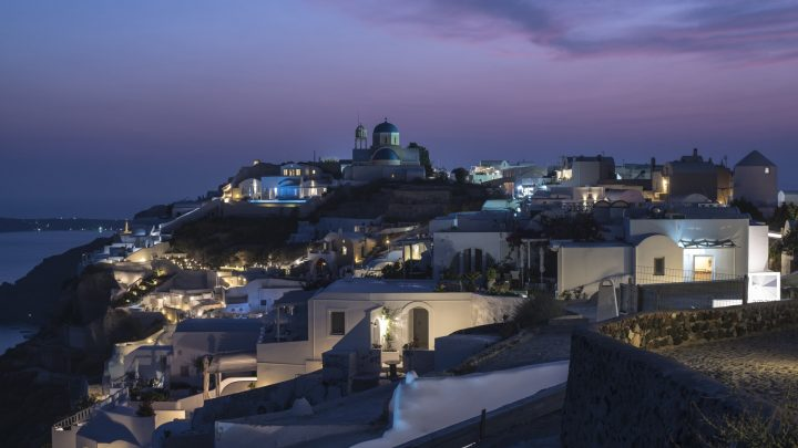 The only NIGHT HIKE in Santorini