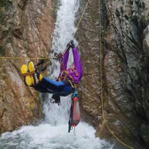 Family Canyoning Chalikorema. Photo Credits G.Holevas
